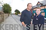 Adrian O'Brien and Imelda.Hanley in Abbeydorney