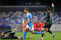 Fernando Llorente of Napoli scores a goal<br /> Napoli 01-12-2019 Stadio San Paolo <br /> Football Serie A 2019/2020 <br /> SSC Napoli - Bologna FC<br /> Photo Cesare Purini / Insidefoto