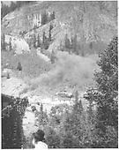double-header with engine #22 in the lead crossing trestle 45A.<br /> RGS  Ophir Loop, CO