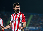 Raul Garcia Escudero of Athletic Club de Bilbao celebrates after scoring his goal during the La Liga 2017-18 match between Getafe CF and Athletic Club at Coliseum Alfonso Perez on 19 January 2018 in Madrid, Spain. Photo by Diego Gonzalez / Power Sport Images