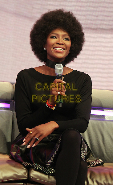 NEW YORK, NY - MARCH 3: Naomi Campbell at BET's 106 and Park promoting the second season of The Face in New York City on March 3, 2014 . <br /> CAP/MPI/RW<br /> &copy;RW/ MediaPunch/Capital Pictures