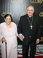 Maria Mesa and Jose Horacio Gomez at the film premiere of 'For Greater Glory' at AMPAS Samuel Goldwyn Theater on May 31, 2012 in Beverly Hills, California. © mpi26/ MediaPunch Inc.