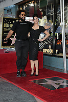 LOS ANGELES - NOV 9:  Reggie Watts, Sarah Silverman at the Sarah Silverman Star Ceremony on the Hollywood Walk of Fame on November 9, 2018 in Los Angeles, CA