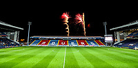 Fans are treated to a firework display after the match at Ewood Park<br /> <br /> Photographer Alex Dodd/CameraSport<br /> <br /> The EFL Sky Bet Championship - Blackburn Rovers v Queens Park Rangers - Saturday 3rd November 2018 - Ewood Park - Blackburn<br /> <br /> World Copyright &copy; 2018 CameraSport. All rights reserved. 43 Linden Ave. Countesthorpe. Leicester. England. LE8 5PG - Tel: +44 (0) 116 277 4147 - admin@camerasport.com - www.camerasport.com