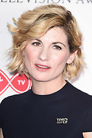 Jodie Whittaker in the winners room for the BAFTA TV Awards 2018 at the Royal Festival Hall, London, UK. <br /> 13 May  2018<br /> Picture: Steve Vas/Featureflash/SilverHub 0208 004 5359 sales@silverhubmedia.com