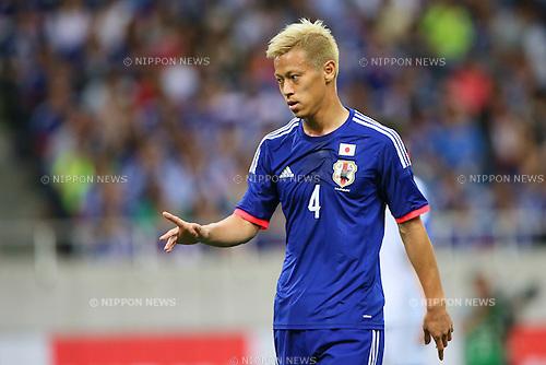 Keisuke Honda (JPN), <br /> MAY 27, 2014 - Football /Soccer : <br /> Kirin Challenge Cup 2014 <br /> between Japan 1-0 Cyprus <br /> at Saitama Stadium 2002, Saitama, Japan. <br /> (Photo by YUTAKA/AFLO SPORT)