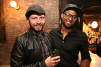 Rob Cline and Daryll Wright attend the private screening of ABC's new show Selfie at the Wythe Hotel's cinema in Brooklyn on September 24, 2014