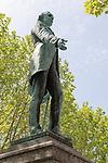Henry Fawcett ( 1833-1884) statue, Market Square, Salisbury, Wiltshire, England, UK