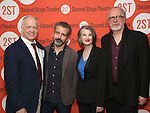 Reed Birney, David Cromer, Annette O'Toole and Tracy Letts attend the Second Stage Theatre's Off-Broadway Opening Night After Party for 'Man From Nebraska'  at Dos Caminos on 2/15/2017 in New York City.