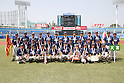 Omiya senior team group, AUGUST 4, 2015 - Baseball : All Japan Little-Senior Baseball Championship final match between Omiya senior 7-3 Edogawa Chuo senior at Jingu stadium in Tokyo, Japan. (Photo by Yusuke Nakanishi/AFLO SPORT)