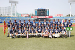 Omiya senior team group, AUGUST 4, 2015 - Baseball : All Japan Little-Senior Baseball Championship final match between Omiya senior 7-3 Edogawa Chuo senior at Jingu stadium in Tokyo, Japan. (Photo by Yusuke Nakanishi/AFLO SPORT)