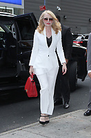 NEW YORK, NY July 04: Patricia Clarkson seen on her way to Good Morning America promoting the new HBO mini-series Sharp Objects on July 04, 2018 in New York City. <br /> CAP/MPI/RW<br /> &copy;RW/MPI/Capital Pictures
