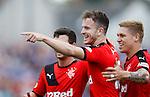 Andy Halliday celebrates his goal