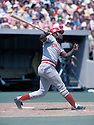 CIncinnati Reds Joe Morgan(8), in action during a game from the 1976 season.