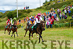 Action from the Races at Cahersiveen on Sunday.