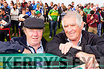 Sean Flaherty and Eamon Fitzmaurice, Lixnaw  pictured at the St Brendan's v Kilmoyley County Senior Hurling final on Sunday last.
