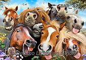 Howard, SELFIES, paintings+++++,GBHR873,#Selfies#, EVERYDAY ,horses