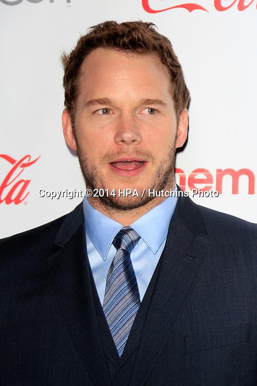 LOS ANGELES - MAR 27:  Chris Pratt at the  CinemaCon 2014 Awards Gala at Caesars Palace on March 27, 2014 in Las Vegas, NV