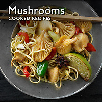 Food Pictures of Mushroom Cooked Recipe Dishes. Mushroom Recipe Food Images & Photos