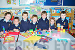BRICKS: Building their castles out of their lego's which they brought to their school on their First dayn to Kilury NS, Causeway, L-r: Jack O'Mahony, Jack O'Hara, Kieran Sheehan, Devin O'Donoghue, Dylan Legg, Abbie Mulvihill and Adam Egan......