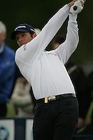 Bradley Dredge tees off on the 7th hole during the final round of the Irish Open on 20th of May 2007 at the Adare Manor Hotel & Golf Resort, Co. Limerick, Ireland. (Photo by Eoin Clarke/NEWSFILE)...