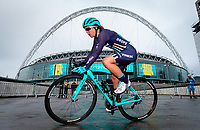 Picture by Alex Whitehead/SWpix.com - 29/05/2018 - Cycling - OVO Energy Tour Series Women's Race - Round 7: Wembley - Trek Drops' Manon Lloyd.