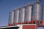DAIRY PROCESSING PLANT in NORTH EASTERN COLORADO at STORAGE TANKS AT DAIRY PLANT