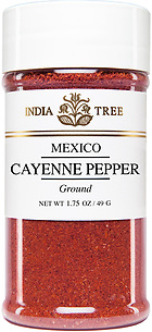 30814 Cayenne Pepper, Small Jar 1.75 oz, India Tree Storefront