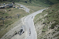 descending the Col du Tourmalet (HC/2115m/17km/7.3%)<br /> <br /> st11: Pau - Cauterets (188km)<br /> 2015 Tour de France