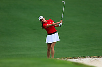 Rose Zhang (USA) during the final  round at the Augusta National Womans Amateur 2019, Augusta National, Augusta, Georgia, USA. 06/04/2019.<br /> Picture Fran Caffrey / Golffile.ie<br /> <br /> All photo usage must carry mandatory copyright credit (© Golffile | Fran Caffrey)