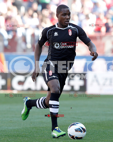 Granada's Odion Jude Ighalo during La Liga match.April 14,2013. (ALTERPHOTOS/Acero)