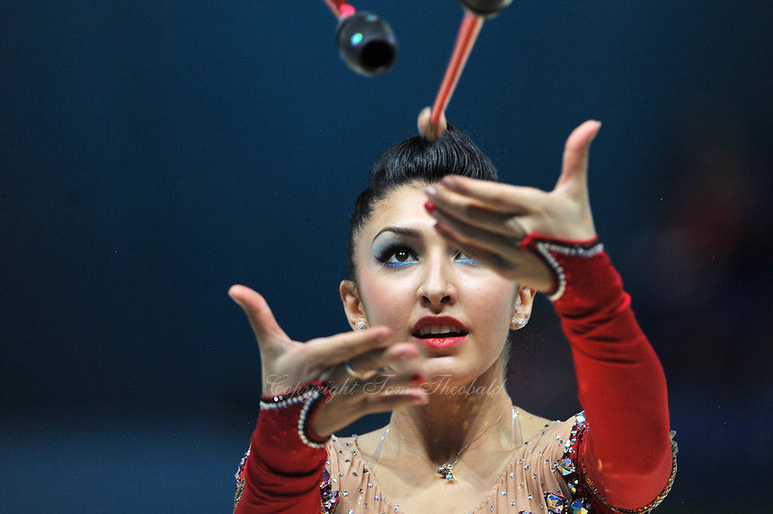 August 30, 2013 - Kiev, Ukraine - VARVARA FILIOU of Greece performs at 2013 World Championships.