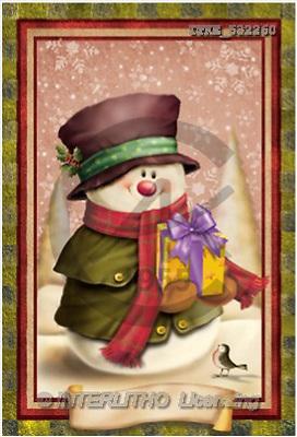 Isabella, CHRISTMAS SANTA, SNOWMAN, paintings(ITKE532260,#X#) Weihnachtsmänner, Schneemänner, Weihnachen, Papá Noel, muñecos de nieve, Navidad, illustrations, pinturas