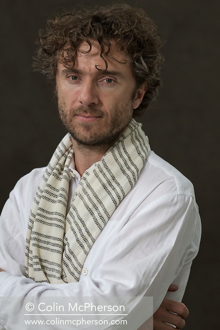 British designer Thomas Heatherwick, pictured at the Edinburgh International Book Festival where he talked about his latest work. The three-week event is the world's biggest literary festival and is held during the annual Edinburgh Festival. The 2012 event featured talks and presentations by more than 500 authors from around the world.