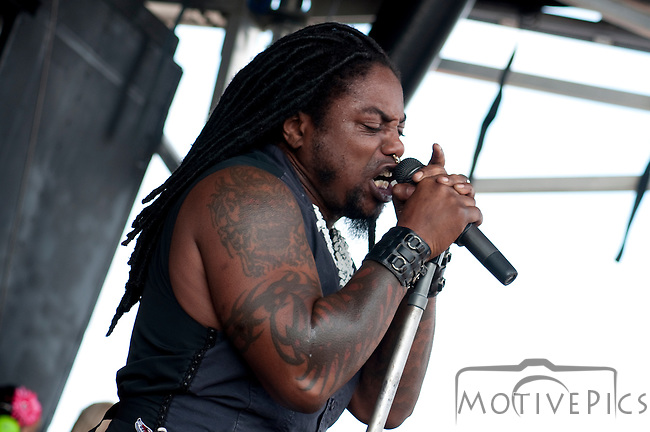 Sevendust at Uproar Festival Verizon Wireless Amphitheater St. Louis, MO September 25th, 2011.