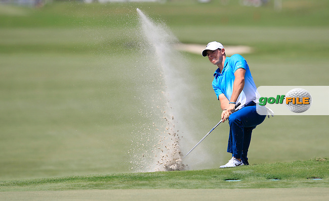 Rory McIlroy (NIR) during the 1st round at the WGC Cadillac Championship, Blue Monster, Trump National Doral, Doral, Florida, USA<br /> Picture: Fran Caffrey / Golffile