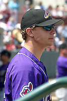 May 11, 2005:  Pitcher J.D. Martin of the Akron Aeros during a game at Jerry Uht Park in Erie, PA.  Akron is the Double-A Eastern League affiliate of the Cleveland Indians.  Photo By Mike Janes/Four Seam Images
