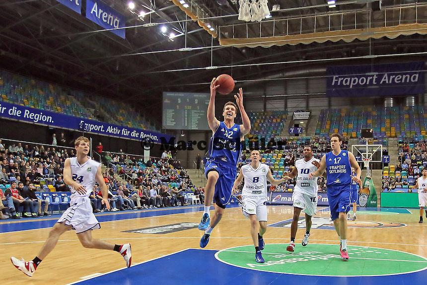 Korbleger Aaron Doornekamp (Skyliners) - Fraport Skyliners vs. Okapi Aalstar, Fraport Arena Frankfurt