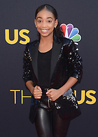 "HOLLYWOOD- SEPTEMBER 26:  Eris Baker at the premiere of NBC's ""This Is Us"" Season 2 at NeueHouse Hollywood on September 26, 2017 in Hollywood, California. (Photo by Scott Kirkland/PictureGroup)"
