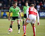 Florent Cuvelier of Sheffield Utd - English League One - Fleetwood Town vs Sheffield Utd - Highbury Stadium - Fleetwood - England - 5rd March 2016 - Picture Simon Bellis/Sportimage