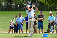Scott Stallings (USA) watches his tee shot on 7 during round 1 of the 2019 Charles Schwab Challenge, Colonial Country Club, Ft. Worth, Texas,  USA. 5/23/2019.<br /> Picture: Golffile | Ken Murray<br /> <br /> All photo usage must carry mandatory copyright credit (© Golffile | Ken Murray)