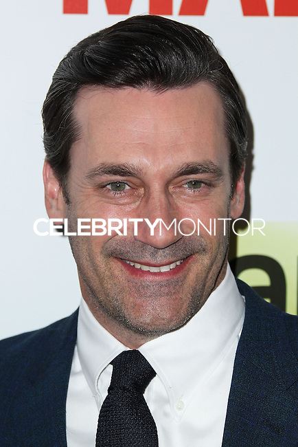 """HOLLYWOOD, LOS ANGELES, CA, USA - APRIL 02: Jon Hamm at the Los Angeles Premiere Of AMC's """"Mad Men"""" Season 7 held at ArcLight Cinemas on April 2, 2014 in Hollywood, Los Angeles, California, United States. (Photo by Xavier Collin/Celebrity Monitor)"""