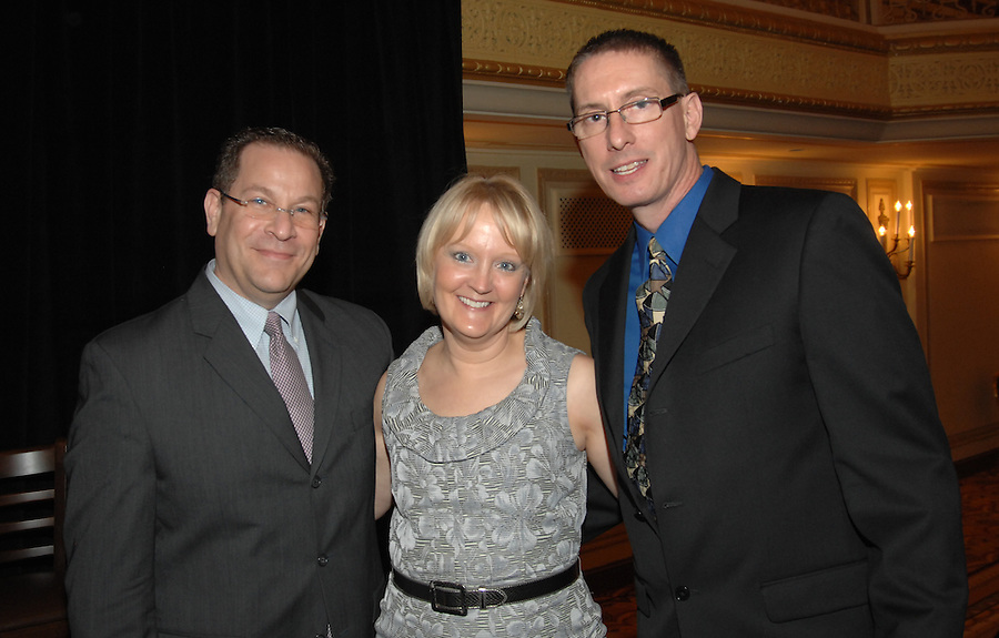 Dave Smolensky (left), Sue Markgraf and Dave Bosch at the Publicity Club of Chicago's Golden Trumpet Awards 2012. [Photo by Kring Lerner Group] The Publicity Club of Chicago recognized the region's best strategic communications work done in 2011 at the Golden Trumpet Awards dinner at the Palmer House in downtown Chicago in Spring 2012. As always, all had a good time and were inspired. Excellent work receive Silver Trumpets. Very excellent work receive Golden Trumpets.  [Photo by The Kring Group (formerly Kring Lerner Group)]