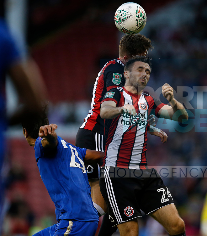 Daniel Lafferty of Sheffield Utd during the Carabao Cup, second round match at Bramall Lane, Sheffield. Picture date 22nd August 2017. Picture credit should read: Simon Bellis/Sportimage