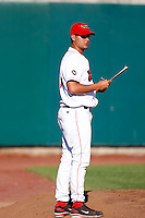 Mike Piazza of the Orem Owlz (2009 Pioneer League)..Photo by:  Bill Mitchell/Four Seam Images..