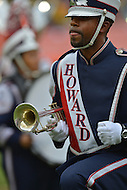 September 1, 2012  (Washington, DC) The Howard University marching band performs at the 2012 AT&T Football Classic. Howard won 29-30 in the last 22 seconds of the game.   (Photo by Don Baxter/Media Images International)
