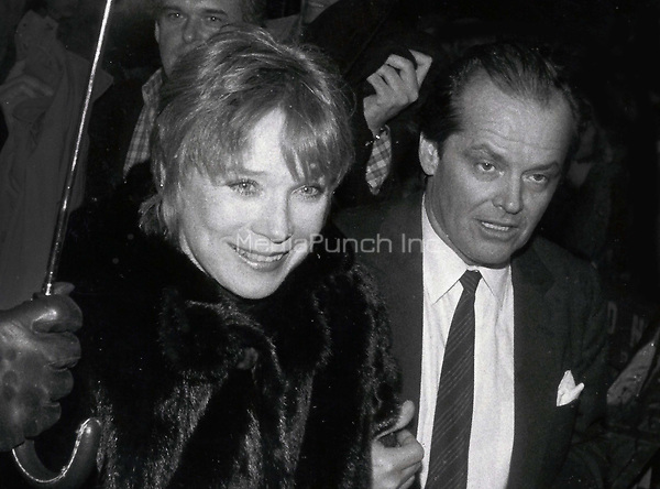 Jack Nicholson Shirley McLaine 1978<br /> Photo By John Barrett-PHOTOlink.net / MediaPunch