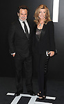 Dennis Miller and Carolyn Espley-Miller arriving at the Tom Ford Autumn/Winter 2015 Womenwears Collection held at Milk Studios Los Angeles, CA. February 20, 2015.
