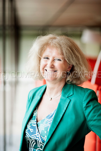 Sabine De Rycker, Chief Commercial Officer at AXA Bank Europe (Belgium, 10/05/2016)