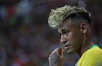 (180617) -- ROSTOV-ON-DON, June 17, 2018 -- Neymar of Brazil reacts during a group E match between Brazil and Switzerland at the 2018 FIFA World Cup WM Weltmeisterschaft Fussball in Rostov-on-Don, Russia, June 17, 2018. ) (SP)RUSSIA-ROSTOV-ON-DON-2018 WORLD CUP-GROUP E-BRAZIL VS SWITZERLAND LuxJinbo  <br /> Rostov on Don 17-06-2018 Football FIFA World Cup Russia  2018 <br /> Brazil - Switzerland / Brasile - Svizzera <br /> Foto Xinhua/Imago/Insidefoto